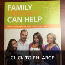 Family Therapy Can Help Book Cover, Stroudsburg, PA