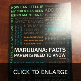 Marijuana: Facts Parents Need To Know Book Cover, Stroudsburg, PA